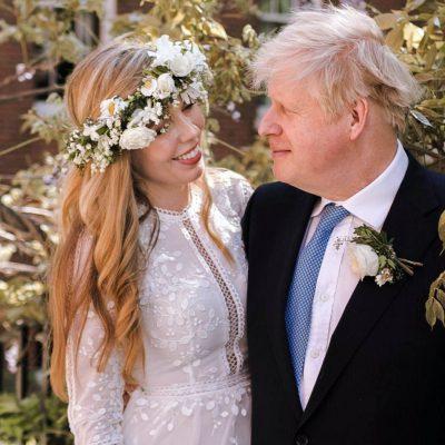 Nozze segrete per il premier inglese Boris Johson