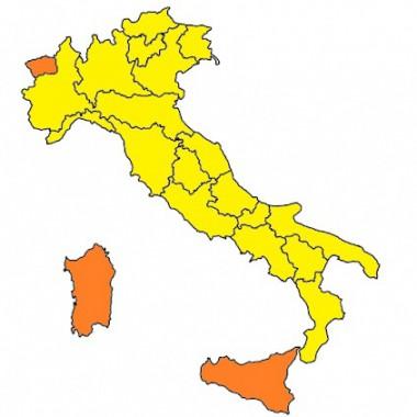 Covid – Puglia e Basilicata da lunedì 10 maggio sono zona gialla