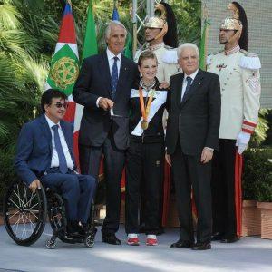 Olimpiadi, consegna del tricolore al Quirinale