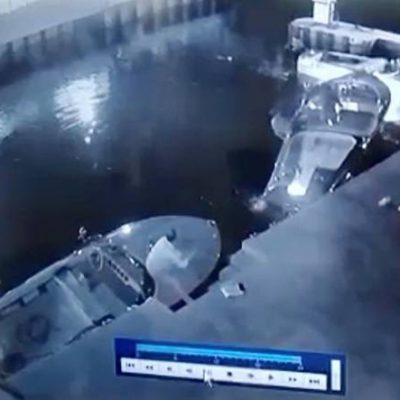 Incidente sul Garda, il video del motoscafo al rientro: indagato cade in acqua