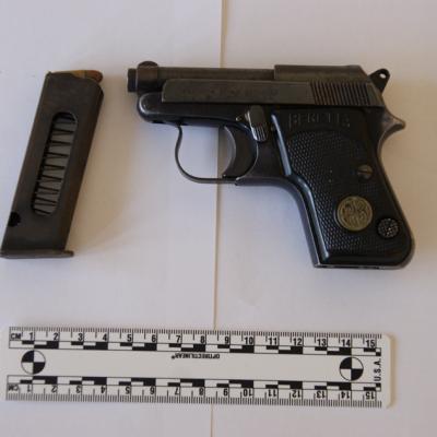 Pistola in un casolare abbandonato, potrebbe essere l'arma dell'omicidio Palmitessa