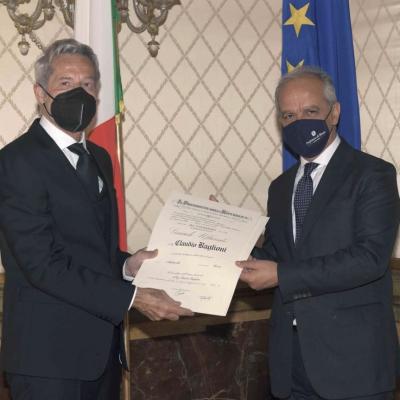 Claudio Baglioni è Grande Ufficiale della Repubblica Italiana
