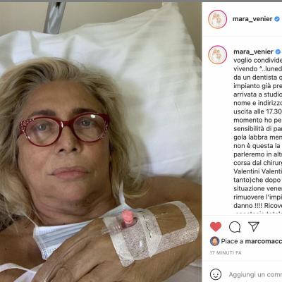 """Mara Venier: """"Un intervento sbagliato dal dentista mi ha rovinato"""""""