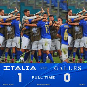 Italia, ecco il terzo acuto. Galles battuto e primo posto a punteggio pieno