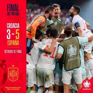 Europei, la Spagna passa ai supplementari. Croazia battuta 5-3