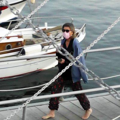 Carolina di Monaco, Luca Argentero con la neo moglie Cristina nel golfo di Capri. David Beckham in Liguria. Per i vip è già vacanza in Italia