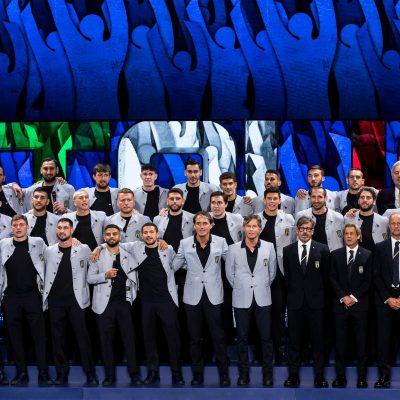 Euro'21, foto di rito per l'Italia e numeri ufficiali