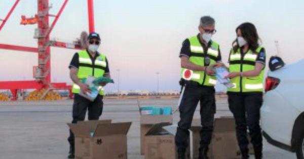 Taranto, sequestrate mascherine per 3,2 milioni di euro