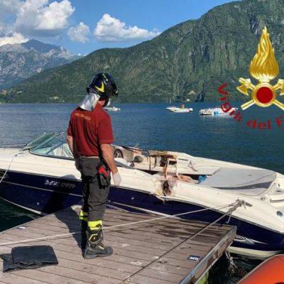Sardegna, muore in mare dopo aver salvato la figlia e due amiche. Scontro mortale tra due imbarcazioni sul lago di Como