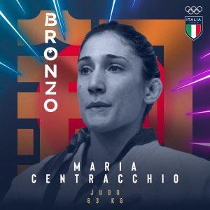 Tokyo, decima medaglia per l'Italia: bronzo di Centracchio nel judo sotto i 63 chili