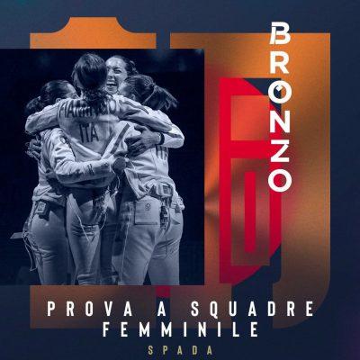 Tokyo, dopo 25 anni l'Italia torna sul podio della spada donne a squadre: bronzo per le azzurre