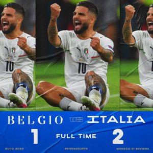 Apoteosi Italia. Barella e Insigne stendono il Belgio e le regalano la semifinale contro la Spagna