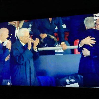 """Mattarella: """" Tutti quanti insieme abbiamo avuto fortuna, una vittoria bellissima"""""""