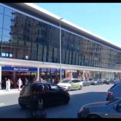 Presentato il nuovo ingresso della stazione centrale di Bari