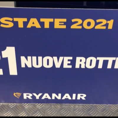 Turismo, le nuove rotte estive di Ryanair da e per la Puglia