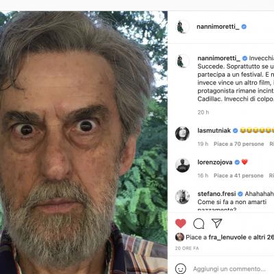 """Moretti sui social: """"Cannes mi ha fatto invecchiare"""""""