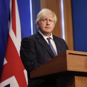 Boris Johnson diventerà di nuovo papà a Natale