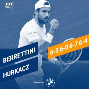 Wimbledon, Berrettini scrive la storia. È il primo italiano ad accedere alla finale