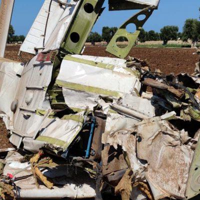 Aereo ultraleggero precipitato a Savelletri, morti entrambi i passeggeri