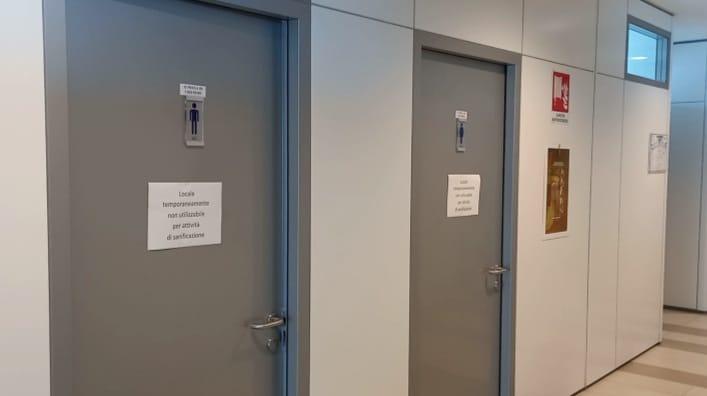 Legionella in Regione, chiusi i bagni di un'ala del Palazzo di via Gentile