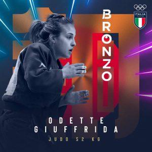 Olimpiadi, per l'Italia arriva la quarta medaglia. Odette Giuffrida bronzo nel judo