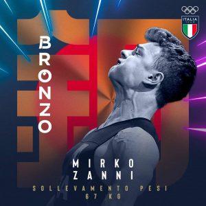 Olimpiadi, l'Italia centra la quinta medaglia. Zanni bronzo nel sollevamento pesi