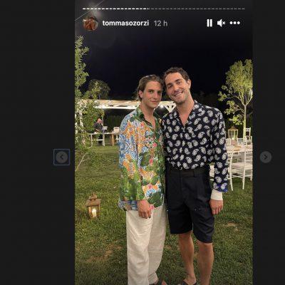 Tommaso Zorzi e Tommaso Stanzani, la loro estate d'amore in Puglia