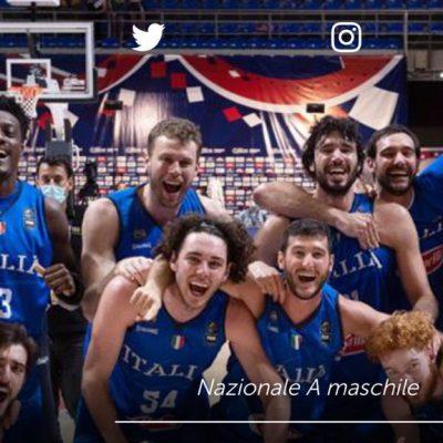 Italia grande anche nel basket: gli azzurri andranno alle olimpiadi di Tokyo