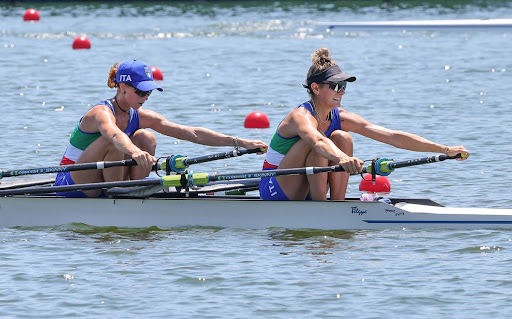 La seconda medaglia d'oro per l'Italia è donna con le canottiere Cesarini-Rodini