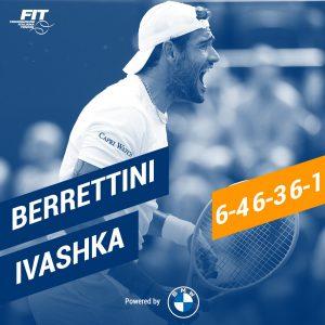 Tennis, Berrettini ai quarti di Wimbledon. Un risultato che all'Italia mancava da 23 anni