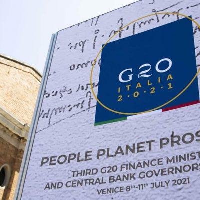 Tassazione globale, raggiunto l'accordo al G20 di Venezia