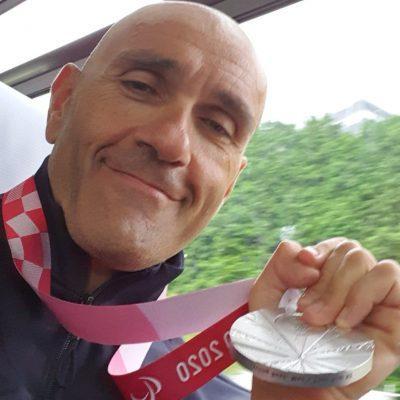 Paralimpiadi, altre cinque medaglie per l'Italia. Il pugliese Luca Mazzone argento nel ciclismo
