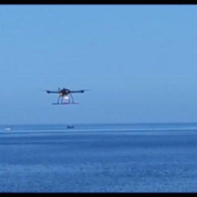 Bari, droni per i controlli anti-Covid sulle spiagge