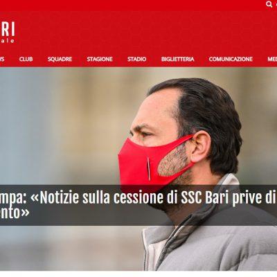 Bari in vendita? Il presidente De Laurentiis: una fake news solo per fare clamore