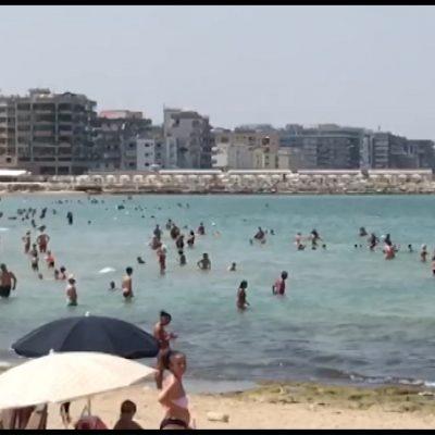 """L'iniziativa di """"Gens Nova"""" contro gli assembramenti in spiaggia"""
