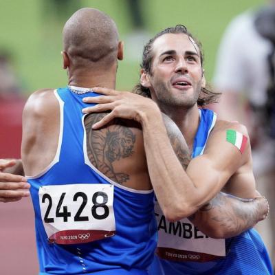 Olimpiadi, Tamberi e Vanessa Ferrari sono rientrati in Italia