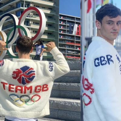 Tom Daley ha finito il maglione olimpico. I sui lavori all'asta per beneficenza