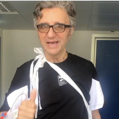 Gaetano Curreri dimesso dall'ospedale di Ascoli