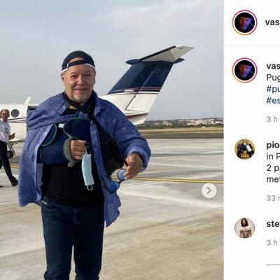 Vasco Rossi sceglie la Puglia per le sue vacanze