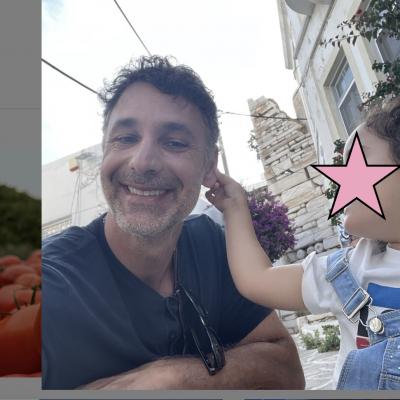 Raoul Bova compie 50 anni. Estate in Puglia in masseria con i figli e Rocio