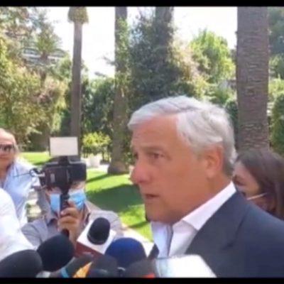 """Tajani: """"Più fondi al Sud grazie a Forza Italia"""""""