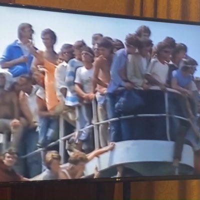 Bari celebra il trentesimo anniversario dello sbarco della nave Vlora