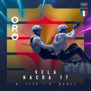 Olimpiadi, primo oro 'misto' per l'Italia: successo di Tita e Banti nella vela classe Nacra-17