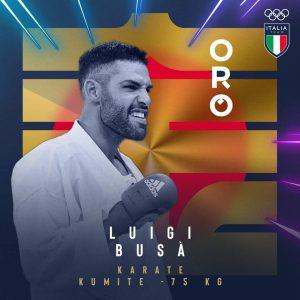 Tokyo, record di medaglie olimpiche per l'Italia. Arriva il nono oro con Luigi Busà nel kumite