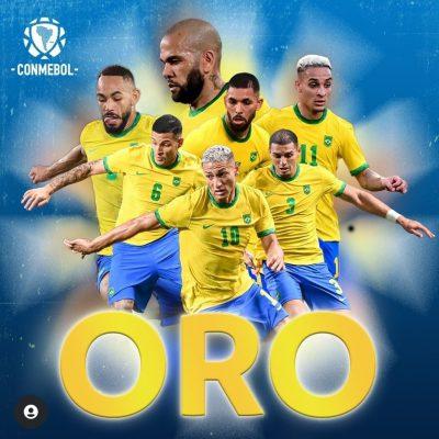 Olimpiadi, Brasile medaglia d'oro nel calcio. Spagna battuta 2-1