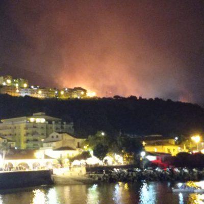 Incendi in Sicilia e Calabria, per i sindaci calabresi sono dolosi. A Palermo arriva il ministro
