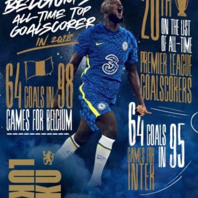 Calcio, Lukaku al Chelsea per cinque stagioni