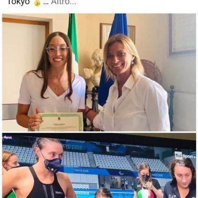 Paralimpiadi: Italia prima nella staffetta 4x100 di nuoto, la pugliese Vittoria Bianco è d'oro