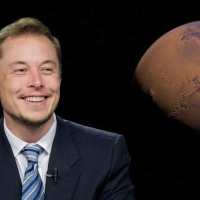Elon Musk in vacanza in Italia
