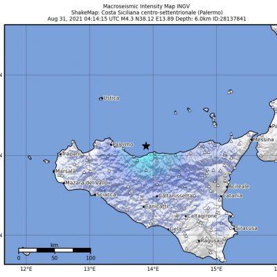 Terremoto nel palermitano, l'epicentro al largo di Cefalù. Nessun danno rilevato